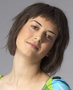 Layered Short Hair with Fringed Bangs Photo (i wouldn't want them to look like this. not a fan.)