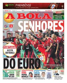 SPORTS And More: @Portugal will be at home in @France Allez with 1m...