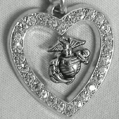 This is beautiful! EGA inside a heart necklace :)