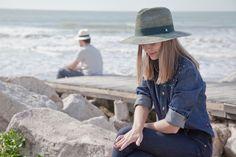 Argentina summer 2015 - special edition Hat: flora banda green - crochet technique - beachstyle  GREENPACHA-Hats For A Better World