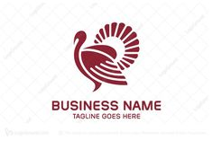Logo for sale: Simple Turkey Logo.  Unique and simple turkey logo. The symbol itself will looks nice as social media avatar and website or mobile icon. turkey thanksgiving religious church ministry non-profit charity buy purchase sell on sale sold product business brand design graphic unique recognized professional software apps app applications application logo logos farm