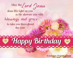 Christian Birthday Wishes Messages Greetings And Images Good