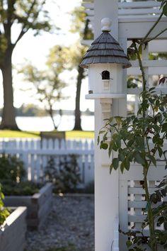 Birdhouse - lamb & blonde: My Dream Garden