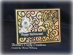 Theresa's Crafty Creations: Happy Halloween? WHAT?