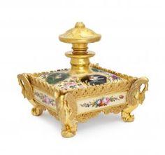 1850s Jacob Petit Porcelain Perfume Bottle