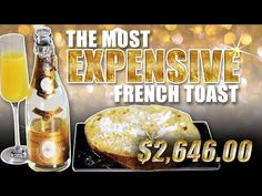 The Most Expensive French Toast - Epic Meal Time