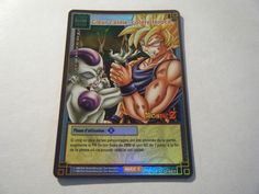 Coeur Calme, Colère Féroce - D-467 - Carte Dragon Ball Z Série 5 - Holo