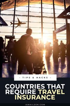 Complete List of Countries That Require Travel Insurance for Entry (with COVID-19 Coverage) Europe Travel Tips, Travel Guides, Places To Travel, Budget Travel, Solo Travel, Travel Usa, Travel Advise, International Travel Tips, Discount Travel