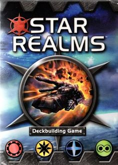 Launch yourself among the stars and make alliances with the warring factions for victory in Star Realms! Check out this small deck-building game by White Wizard Games with big promises.