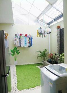 Laundry Room Design, Home Room Design, House Design, Patio Design, Diy Design, Design Ideas, Outdoor Laundry Rooms, Outdoor Kitchens, Drying Room