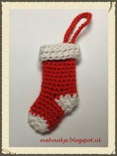 Haken voor Kerst. De Kerstsok - Haken en Kralen... by EveLYn