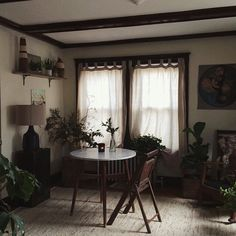 Small cozy dining room