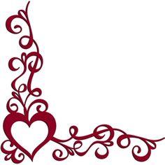 Silhouette Design Store - View Design #15714: essence of love corner