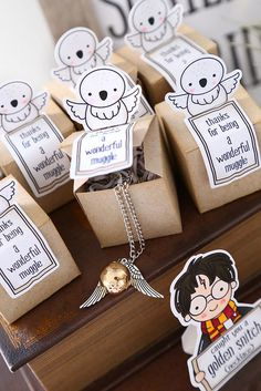 I Already Sneaked A Picture Of These Little Favor Bo On Instagram But Wanted Harry Potter Gift