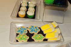 Science Cookies and GF cupcakes