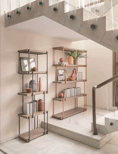Open Double Sided Wooden Bookcase RAIN By Bonaldo Design Gino Carollo