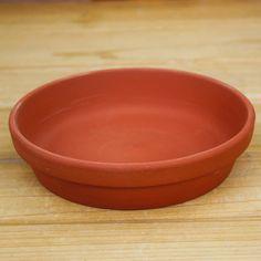 Gardening terracotta flower pot of red clay flowerpot base circular tray p299