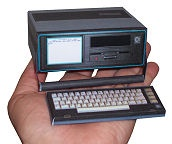 SX-64 Paper Model in Hand - Free 3D Paper Crafts