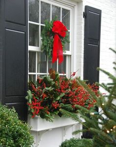 Easy Ways To Dress Up Your Windows This Christmas