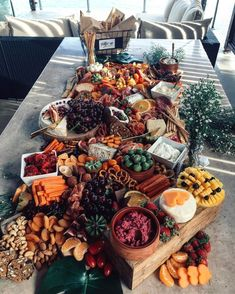 Check out our Savory Recipes board for our favorite food photography, dinner ideas & healthy vegetarian dishes. Food Platters, Cheese Platters, Antipasto, Charcuterie And Cheese Board, Charcuterie Display, Charcuterie Platter, Catering Display, Catering Food, Wine And Cheese Party