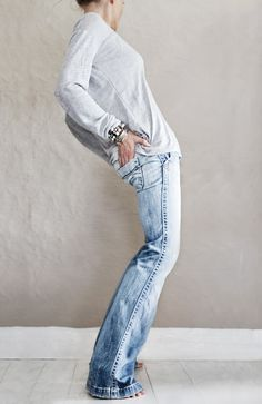photographs by ©Hannah Lemholt Photography #jeans #Casual