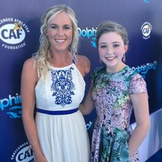 Bethany Hamilton and Cozi Zuehlsdorff at premiere. Young Celebrities, Celebs, Famous Surfers, Dolphin Tale, Bethany Hamilton, Kelly Slater, Soul Surfer, Surf Girls, Movie Stars