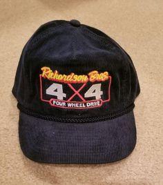 e5125310 Vintage 4x4 Trucker Hat corduroy 4x4 Richardson Bros #fashion #clothing  #shoes #accessories #mensaccessories #hats (ebay link)