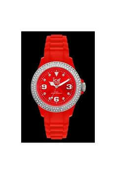 Ice Watch Stone Sili Red Silver