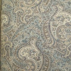 The Ceylon Collection Paisley Wallpaper