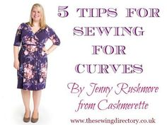 """Tips for Sewing for Curves """"Useful tips from Jenny at Cashmerette, plus size pattern design, on sewing for curvy figures. Find out which styles are most flattering, which fabrics work best and where to find plus size sewing patterns. Diy Clothing, Sewing Clothes, Clothing Patterns, Shirt Patterns, Dress Patterns, Doll Clothes, Travel Clothing, Sewing Coat, Bags Sewing"""