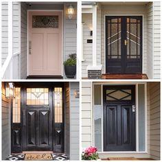 Which was your favourite front door (not including the winners @sticksandwombat)? #theblockshop #9theblock #doors #frontdoors