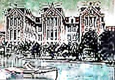 """Ceramic tile """"Caldas da Rainha"""" park"""