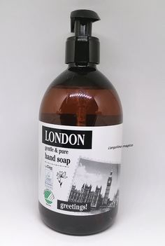 Cien London gentle & pure hand soap Lidl, Soap, New York, Hands, Personal Care, Pure Products, London, Bottle, New York City