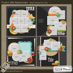 Project 2012: September - 12x12 Temps (CU Ok) :: Templates :: SCRAPBOOK-BYTES