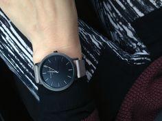 My Rosefield watch. Love it.