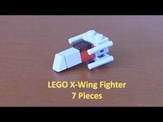 How To Build A LEGO Star Wars Mini X-Wing Fighter 7 Pieces