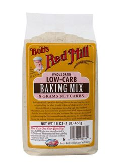Shop the best Bob's Red Mill Low Carb Baking Mix 16 oz Pkg products at Swanson Health Products. Trusted since we offer trusted quality and great value on Bob's Red Mill Low Carb Baking Mix 16 oz Pkg products. Gourmet Recipes, Low Carb Recipes, Diet Recipes, Dessert Recipes, Diabetic Recipes, Diet Meals, Dessert Ideas, Healthy Recipes, Bread Recipes