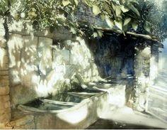 Dmoch Lavoir Castelet Var