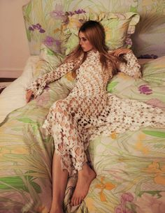 Mica Arganaraz, Edie Campbell by Inez van Lamsweerde & Vinoodh Matadin for Vogue Paris October 2015