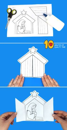 christmas crafts jesus Mother Mary and Baby Jesus Craft Christmas Bible, Preschool Christmas, Christmas Activities, Christmas Crafts For Kids, Xmas Crafts, Kids Christmas, Bible Crafts For Kids, Toddler Crafts, Preschool Crafts