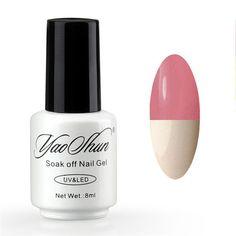 Yao Shun UV Nail Gel Polish Soak Off LED/UV Temperature Mood Color Changing Nail Polish Lacquer 60 Color Hot Sale Gel Vanish