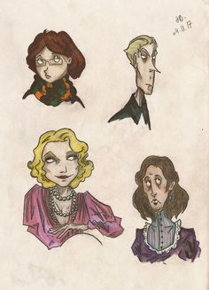 Thorn and the Ladies (colored version) by Nargols.deviantart.com on @DeviantArt