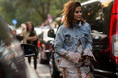 Street-Style Mailand Fashion Week Frühjahr/Sommer 2016