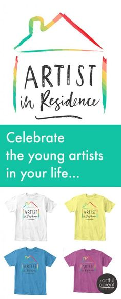 Artist in Residence T-Shirts for Kids