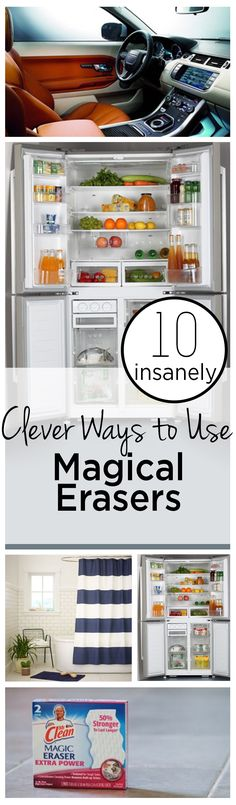 10 Insanely Clever Ways to Use Magic Erasers