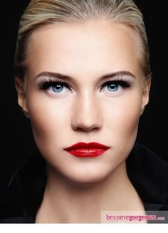 GLAMOROUS RED LIPS FOR YOU!!   Young Craze