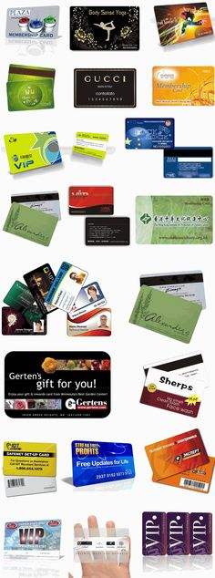 non-standard card sample plastic key tags \ combo cards Pinterest - sample cards