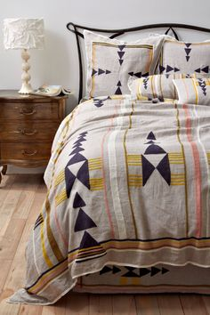 aztec duvet cover | Emerson Grey Designs : Nursery Interior Designer: Geometric bedding {I ...