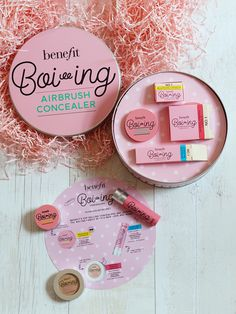 BENEFIT BOI-ING INDUSTRIAL STRENGTH CONCEALER  BENEFIT BOI-ING BRIGHTEN CONCEALER BENEFIT BOI-ING HYDRATING CONCEALER BENEFIT BOI-ING AIRBRUSH CONCEALER - All £14.88. Every daily make up routine has t