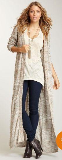 long sweater basic everday wear